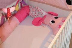 Bettschlange-rosa